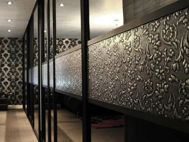 Фасады из декоративной кожи