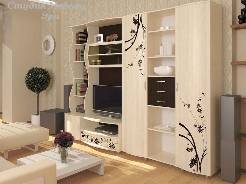 Мебель молочного цвета: фото, идеи интерьера.