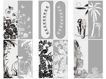 Каталог пескоструйных рисунков №1
