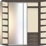 Комби вариант №1 открытые двери
