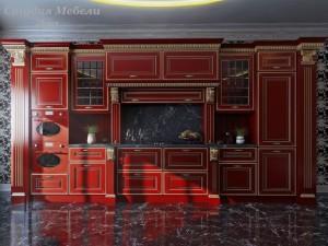 Кухня эмаль №16