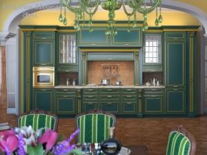 Кухня эмаль №17