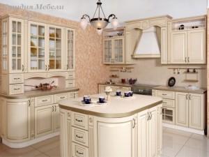 Кухня эмаль №26