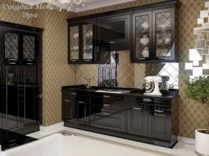 Кухня эмаль №42