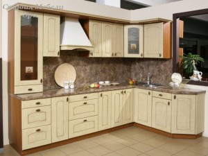Кухня в ПВХ пленке №14