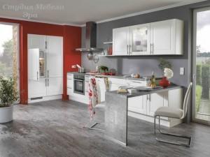 Кухня в ПВХ пленке №31