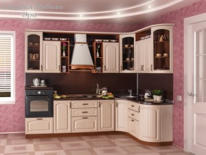 Кухня в ПВХ пленке №47