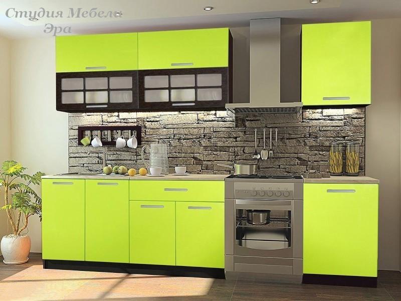 Цвет лайма в интерьере кухни