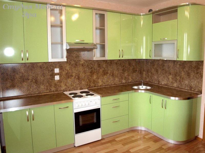 Дизайн кухонь из пластика фото