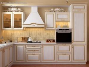 Кухня с патиной №05