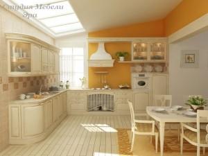 Кухня с патиной №06