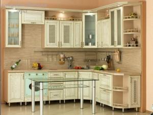 Кухня с патиной №10