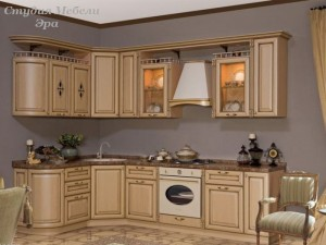 Кухня с патиной №11