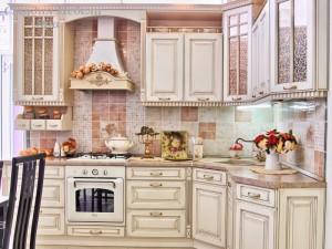 Кухня с патиной №12