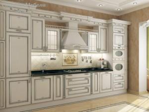 Кухня с патиной №16