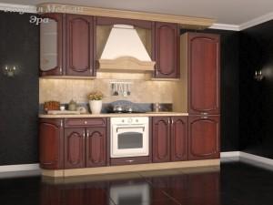 Кухня с патиной №17
