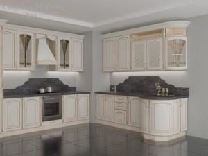 Кухня с патиной №20