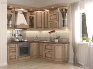 Кухня с патиной №21
