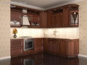 Кухня с патиной №22