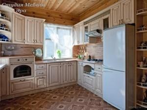 Кухня с патиной №23