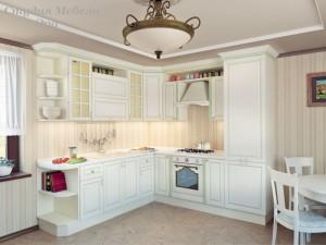 Кухня с патиной №25