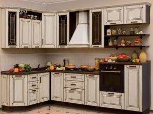 Кухня с патиной №26