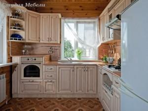 Кухня с патиной №27