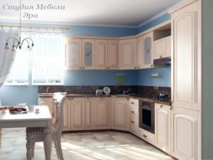 Кухня с патиной №28