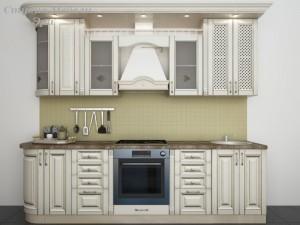 Кухня с патиной №31