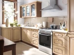 Кухня с патиной №35