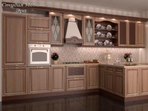 Кухня с патиной №41