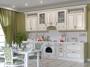 Кухня с патиной №47