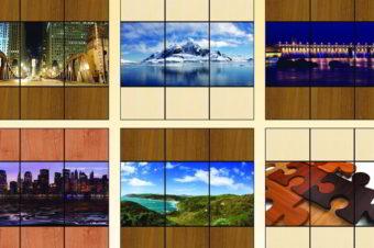 Панорамная фотопечать на три двери