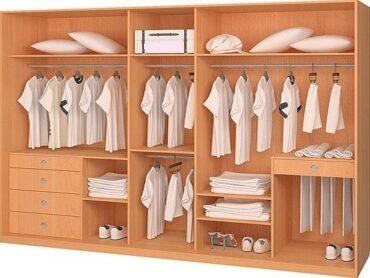 Схемы наполнения шкафов-купе