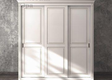 Шкафы купе в классическом стиле крашенные двери
