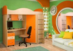 Выбираем мебель для маленьких и больших деток